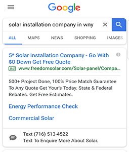 Superior Web Works | Another Client Success Story Freedom Solar